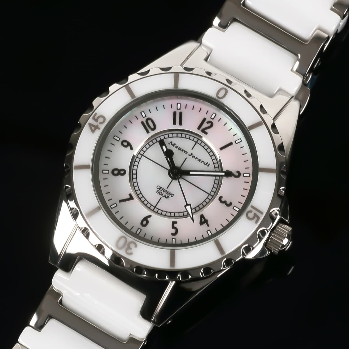 aee7cf7dc0 マウロジェラルディ 腕時計 レディース Mauro Jerardi ソーラー MJ042-2