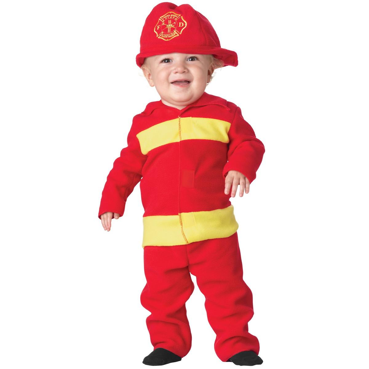 Костюм пожарного своими рук 86