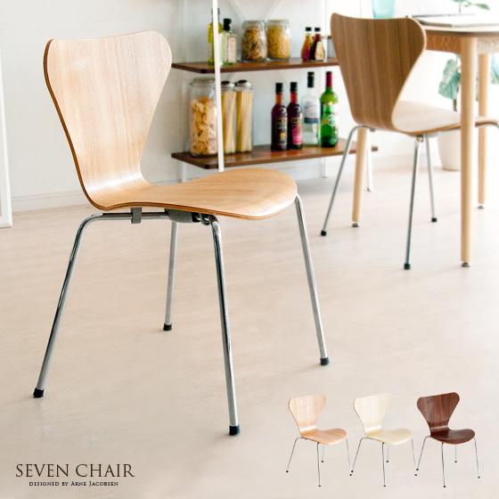 纳维亚现代本世纪中叶雅各布森木 arne jacobsen 代表由椅子七把椅子