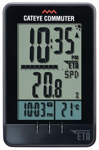 无线计算机: 自行车测速仪 cc com 10 w