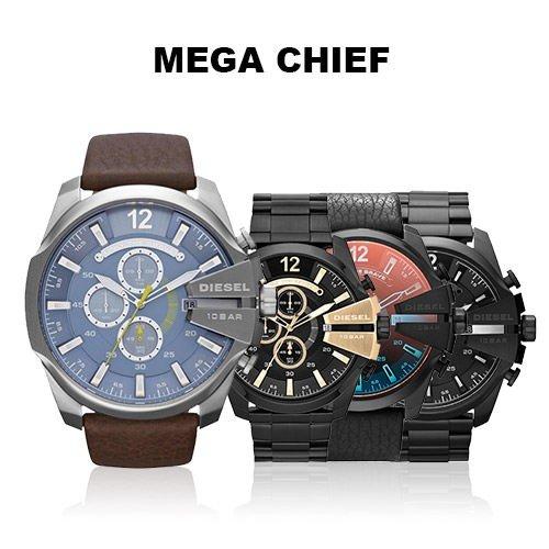 94d6aeecfd 400円クーポンをGET 今回は書かない モデル 1.DZ4281 2.DZ4283 4.DZ4323 5.DZ4329 3.DZ4309  6.DZ4338 ディーゼル腕時計DIESELメンズメガチーフブラウンブラック