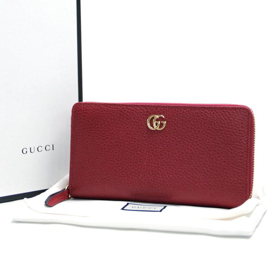 new concept 78637 ed958 展示品】【新品】グッチ オンライン Gucci ラウンドファスナー長 ...