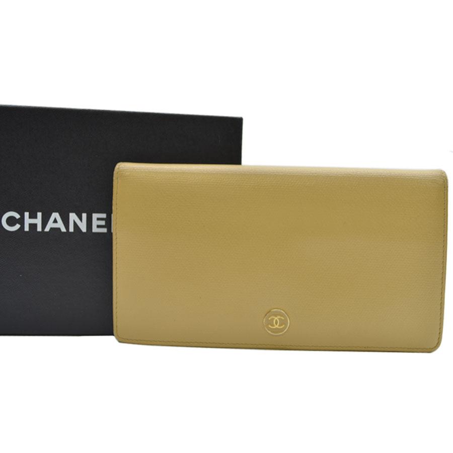 new concept d88ff acb9d シャネル レディース財布 CHANEL 二つ折り長財布 ココマーク ...