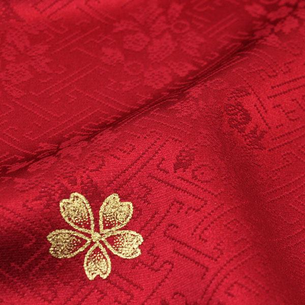 豪华的织花绸缎纱绫形织物上的花纹钱彩加工花设计刺绣长袖和服fs197