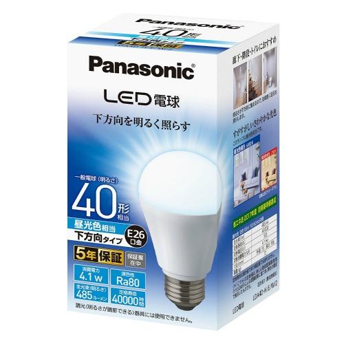 非支持松下调光器的led电灯(一般电灯形,全光束485lm/白天光线色适合