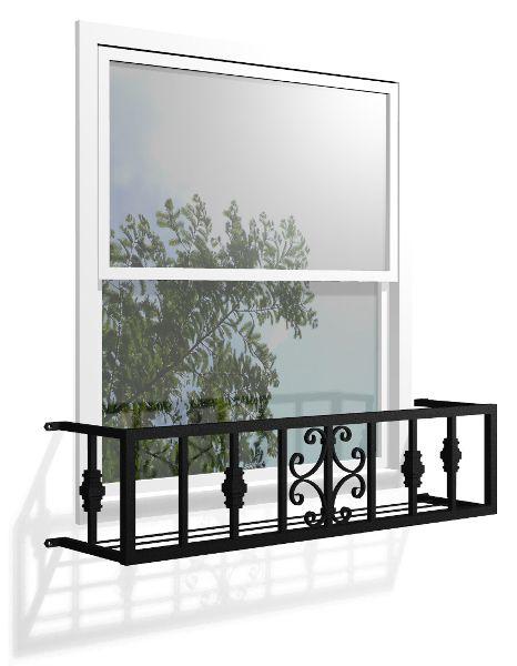 挂花箱花箱西元前 nouveau 墙装饰窗栏杆铝铸件外部安全