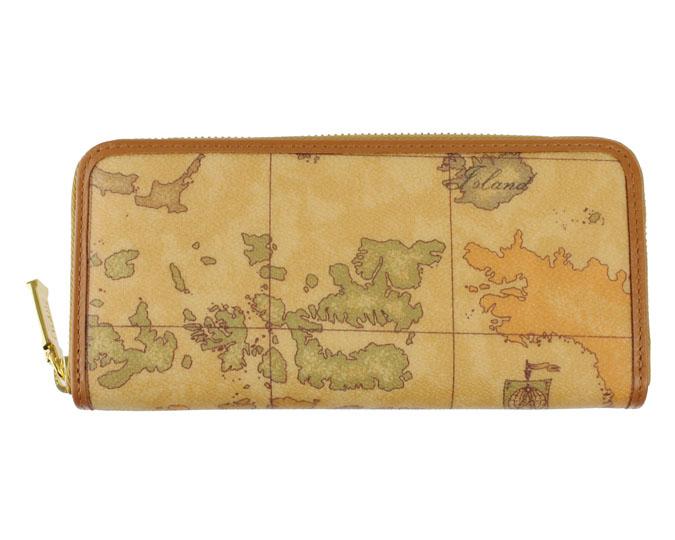 e9e422b08cd9 PRIMA CLASSE ·プリマクラッセ· ラウンドファスナー長財布 / W057 -6000 #34 ベージュ 世界地図柄 (画像1、2枚目の柄目をお送りします。)  【☆セール価格】