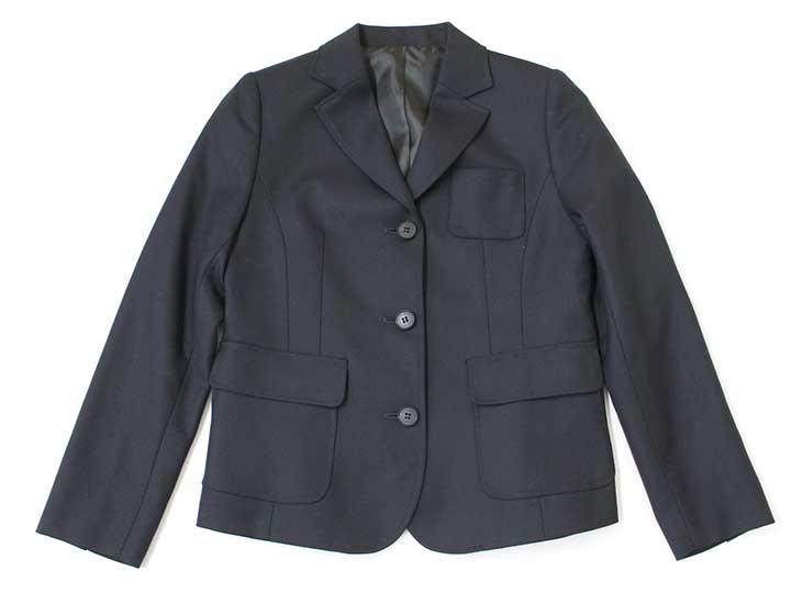 ded9a7ee5c7b1 サイズ140cm素材表:毛100%、裏:ポリ100%色紺汚れ、ダメージ等汚れ、色褪せはありません。使用感ランクA性別女の子その他 着丈約52cm、袖丈約54cm