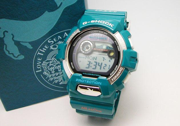 g 冲击 6600 卡西欧手表 g-立德 g 骑() 海豚和鲸鱼 2012年型号 multi