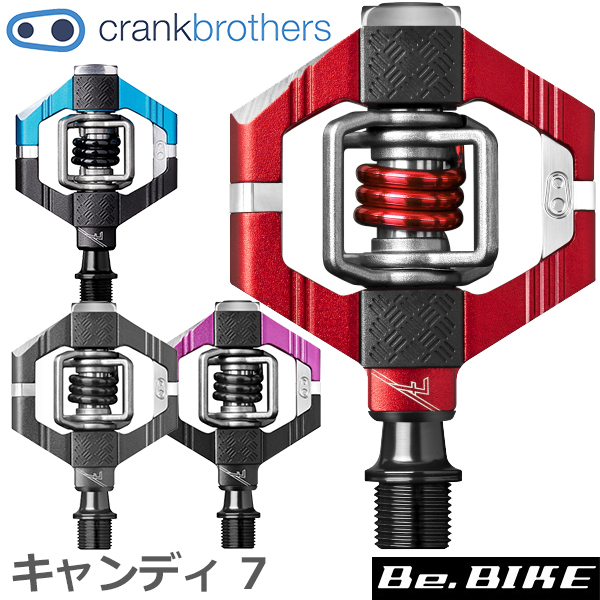 Crank Brothers Candy 7 Pedals Magenta//Black