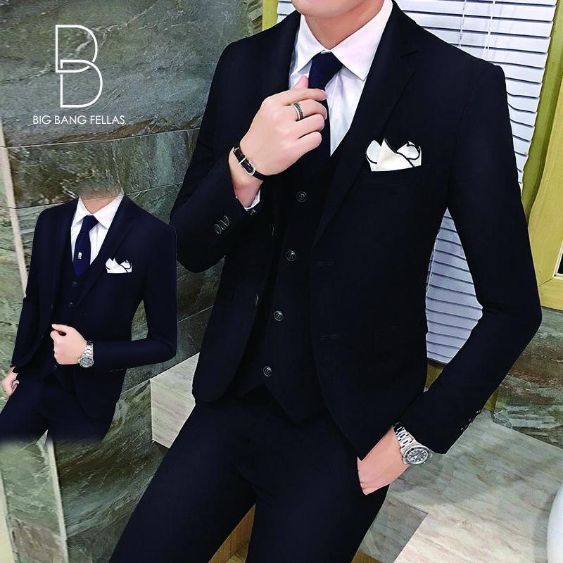 aeec9d64bf2a9  送料無料 メンズ ピーススーツ スタイリッシュスーツ メンズスーツ 3点セット メンズスーツ スリム セットアップ 上下 ビジネススーツ ベスト  パンツ 紳士服 ...