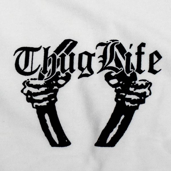 暴徒生活暴徒生活短袖子 t 恤监狱徽标 / x 大黑色黑色和白色 t 恤衫
