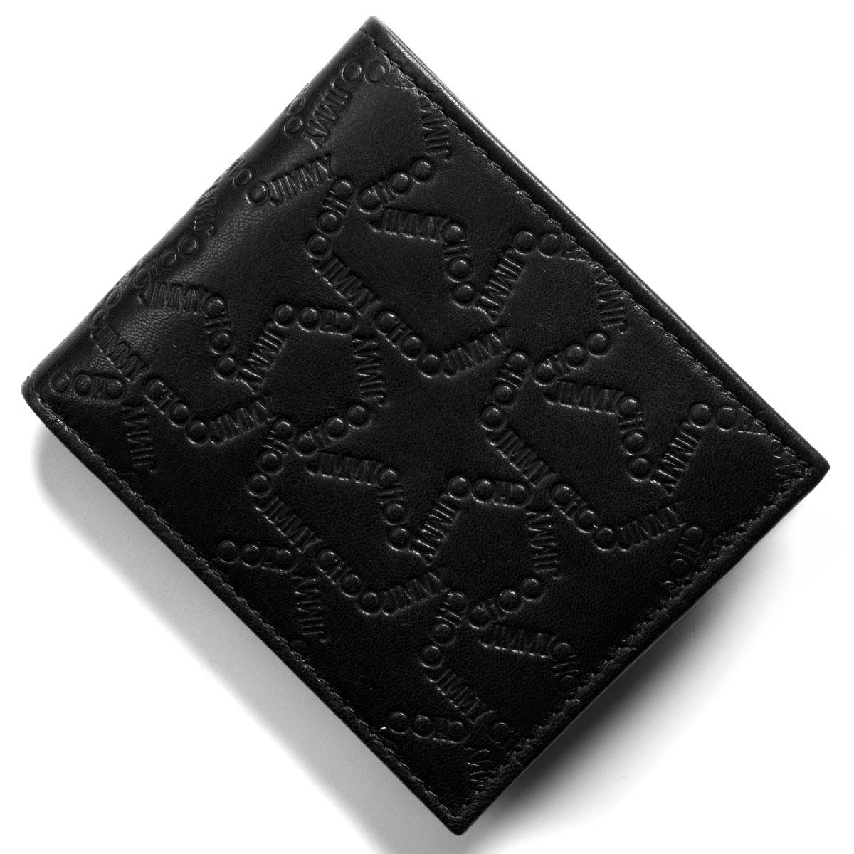 2427284e59b0 ... 円OFFクーポン対象 | ジミーチュウ 二つ折り財布 | 札入れ | 財布 メンズ レディース マーク エンボスド スター ロゴ ブラック  MARK EJL 183 BLACK JIMMY CHOO