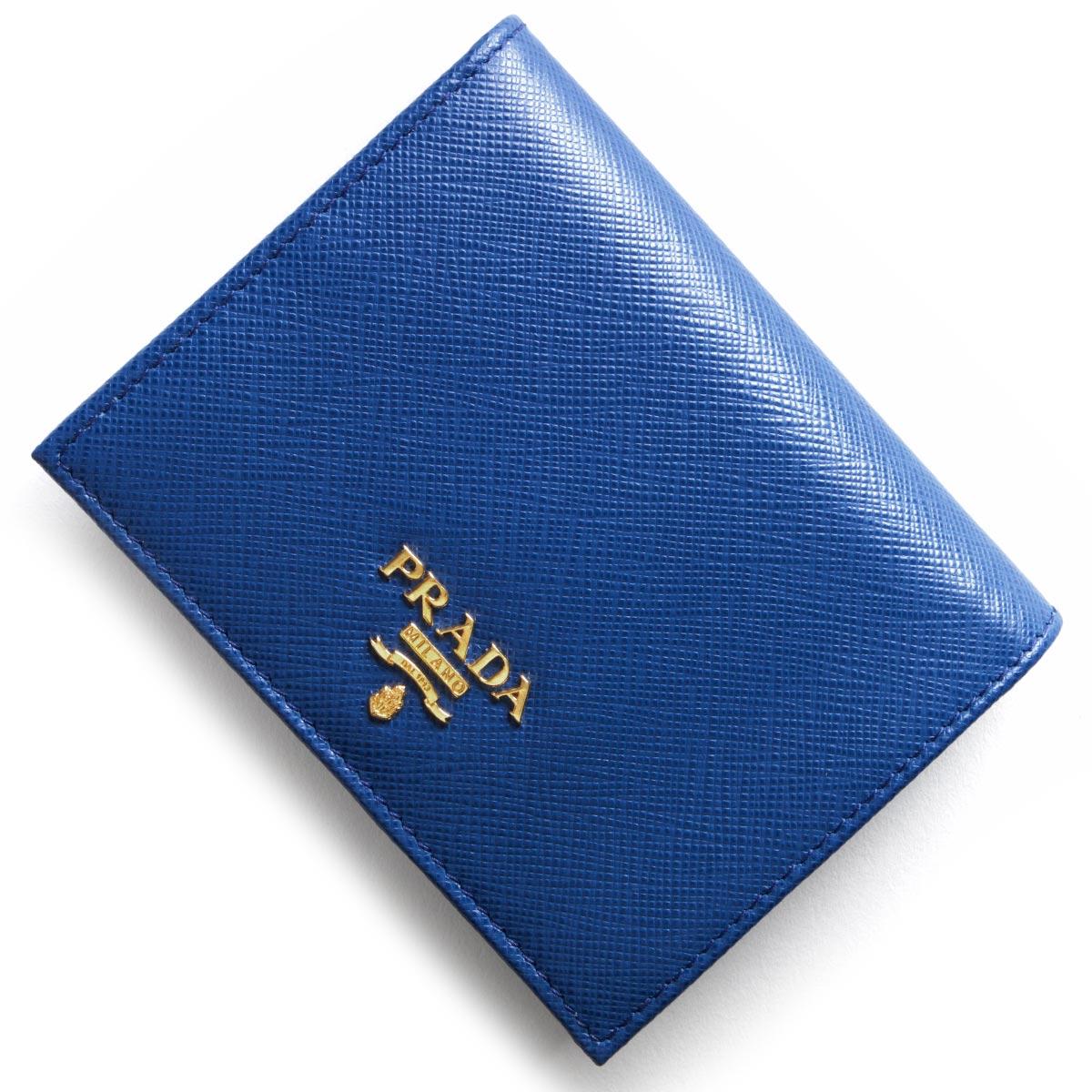 a877b087bd30 プラダ PRADA 二つ折り財布 サフィアーノ メタル SAFFIANO METAL ...