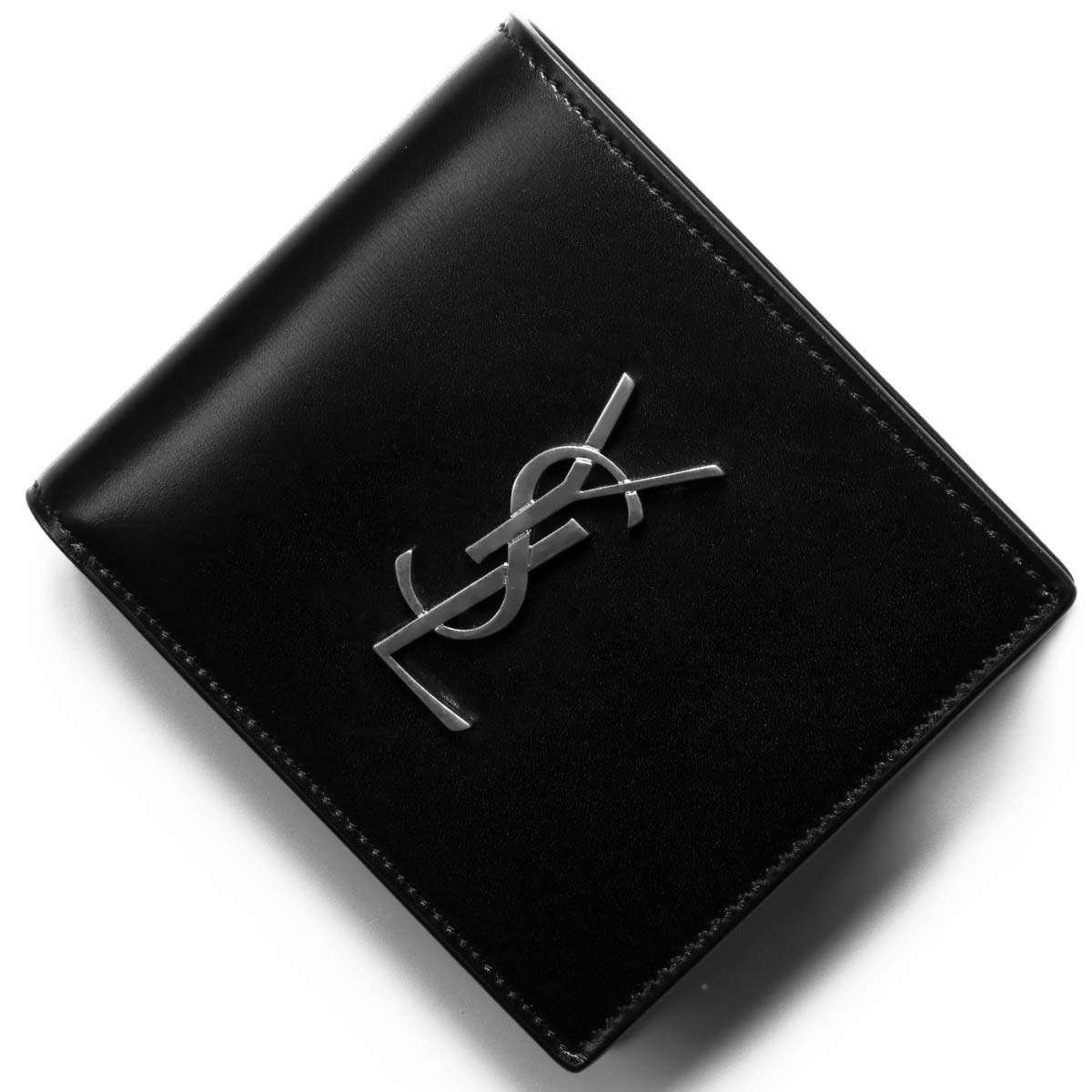 brand new 0f832 e45e3 サンローランパリ イヴサンローラン 二つ折財布【札入れ】 財布 ...