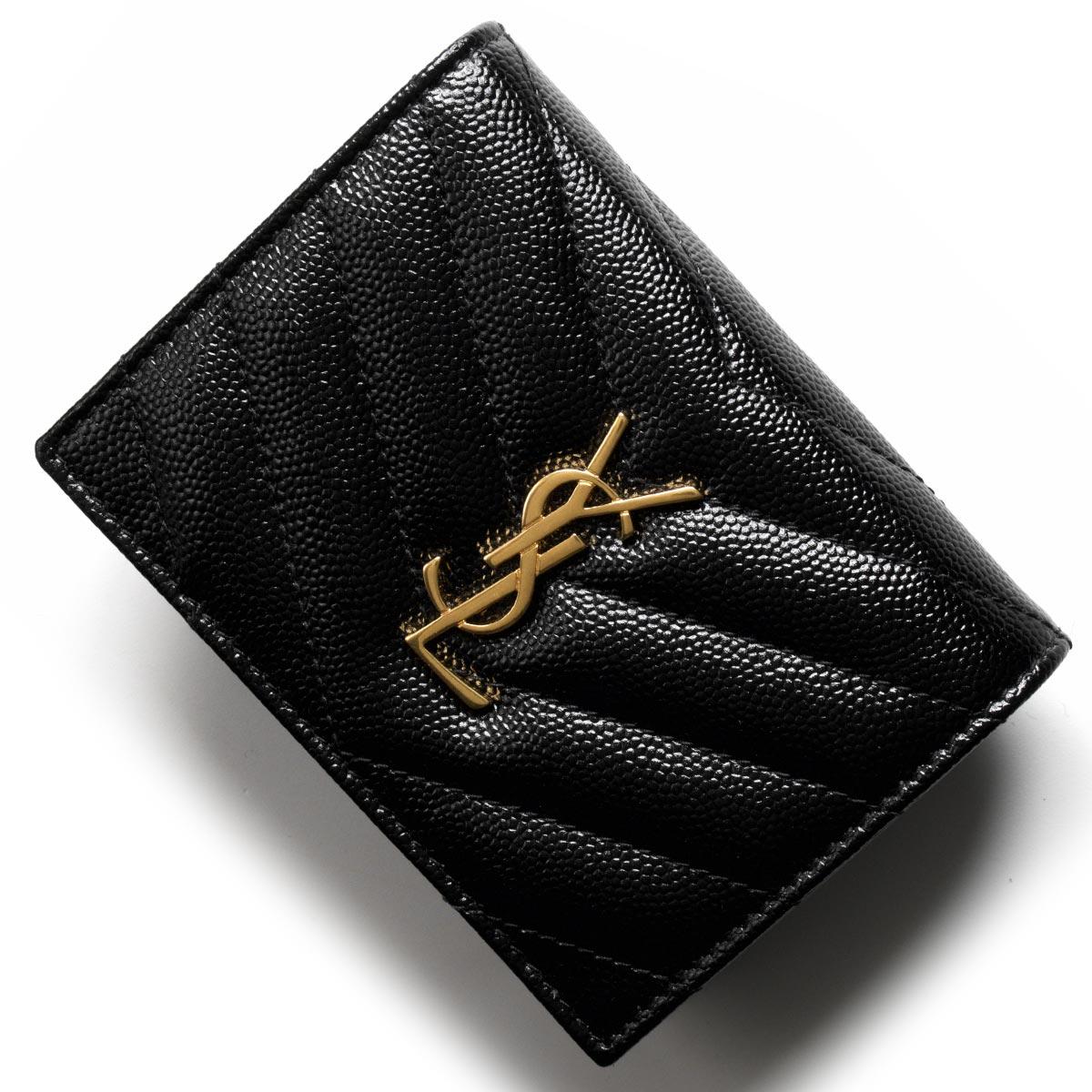 1e2cbcc6935b ... 財布 | 長財布 | サンローランパリ イヴサンローラン 財布 二つ折り財布 財布 レディース モノグラム YSL ブラック 530841  BOWA1 1000 SAINT LAURENT PARIS