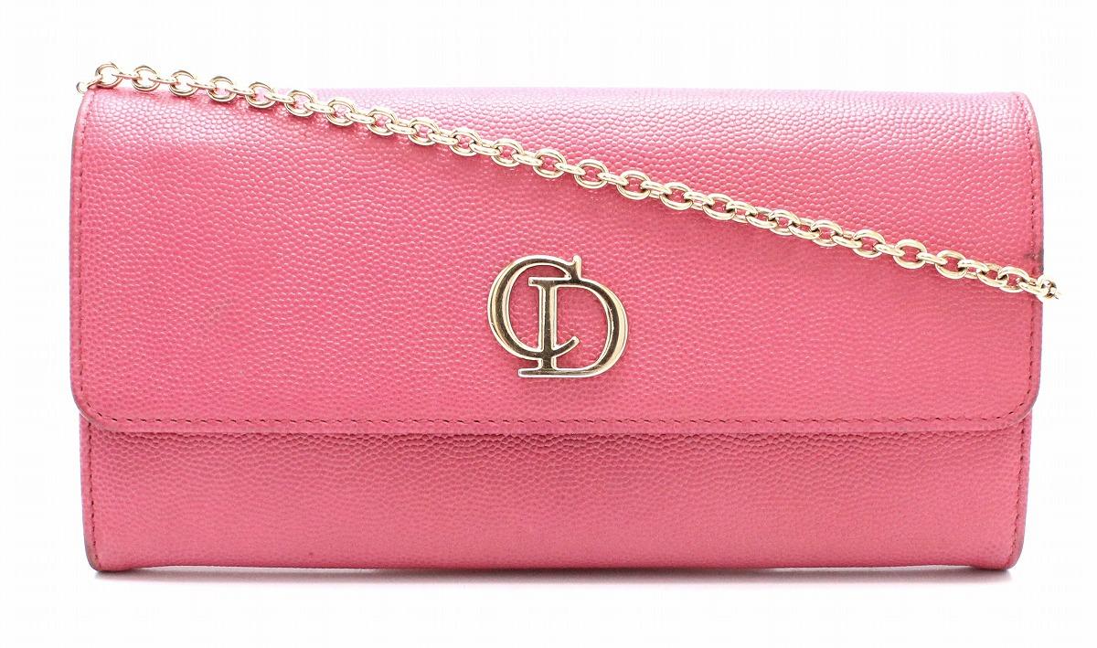 separation shoes 41080 05fa9 財布】Christian Dior 安い クリスチャン ディオール チェーン ...