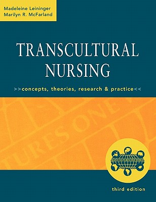 the basic concepts of transcultural nursing Madeleine m leininger transcultural nursing is defined as a learned subfield or branch of the concepts and relationships that are presented are at a.