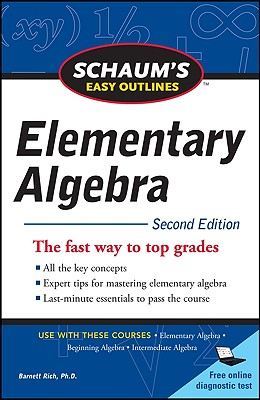 楽天ブックス: Schaum's Easy Outline of Elementary Algebra ...