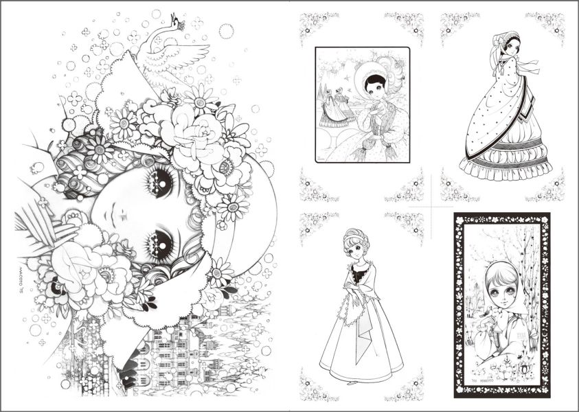takahashi macoto coloring pages - photo#18