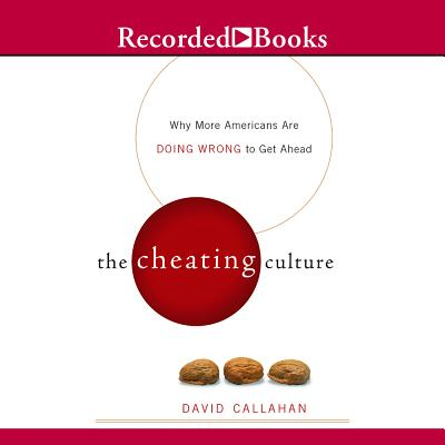 response to david callahan s cheating culture David callahan is founder and editor of inside philanthropy, a digital media site  previously, he was a senior fellow at demos, a public policy group based in  new york city that he co-founded in 1999 he is also an author and lecturer he  is best known as the author of the books the givers and the cheating culture   in july 2017, callahan responded to critics of the book in a lengthy essay in.