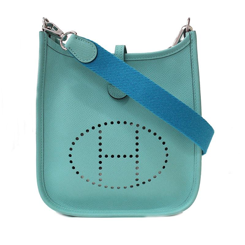 33907d39a86c (Inquiry number)tz071718046he55968ブランド (Brand)HERMES素材 (Material)エプソンカラー  (Color)ブルーアトール×ブルーザンジバル(シルバー金具)サイズ(cm)