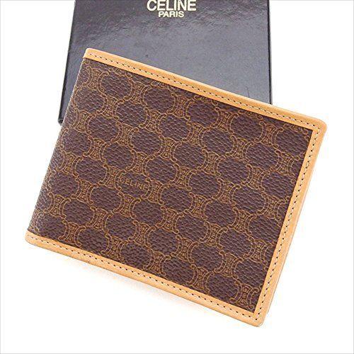 3ca24cf3fbea セリーヌ Celine 二つ折り財布 ブランド バッグ 財布 スーパー ...