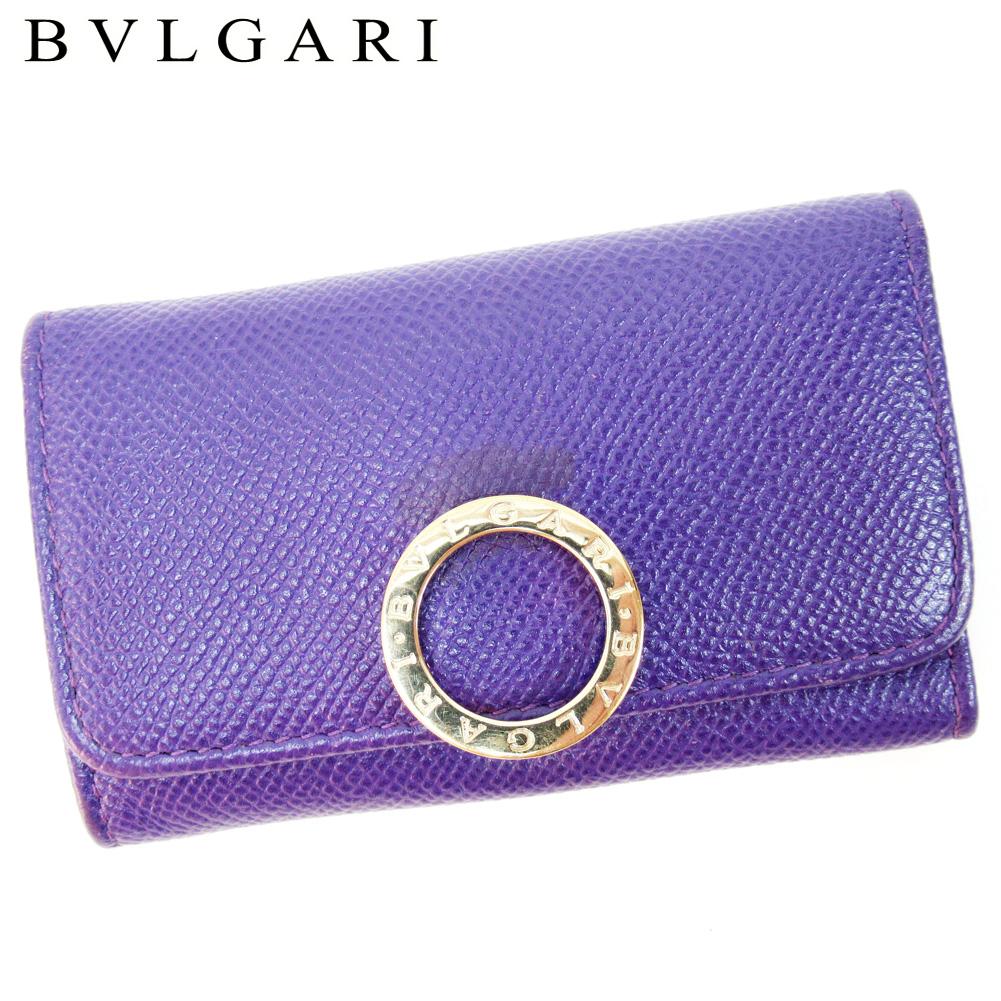 online retailer 2c5e8 77bde ブルガリ BVLGARI キーケース 6連キーケース レディース 財布 ...