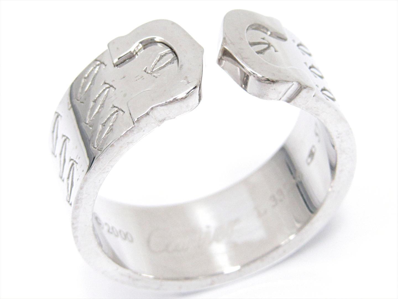 adf283cca01e 最大24回 | カルティエ C2 リング 指輪 メンズ レディース K18WG (750) ホワイトゴールド | | Cartier BRANDOFF  ブランドオフ ブランド ジュエリー アクセサリー