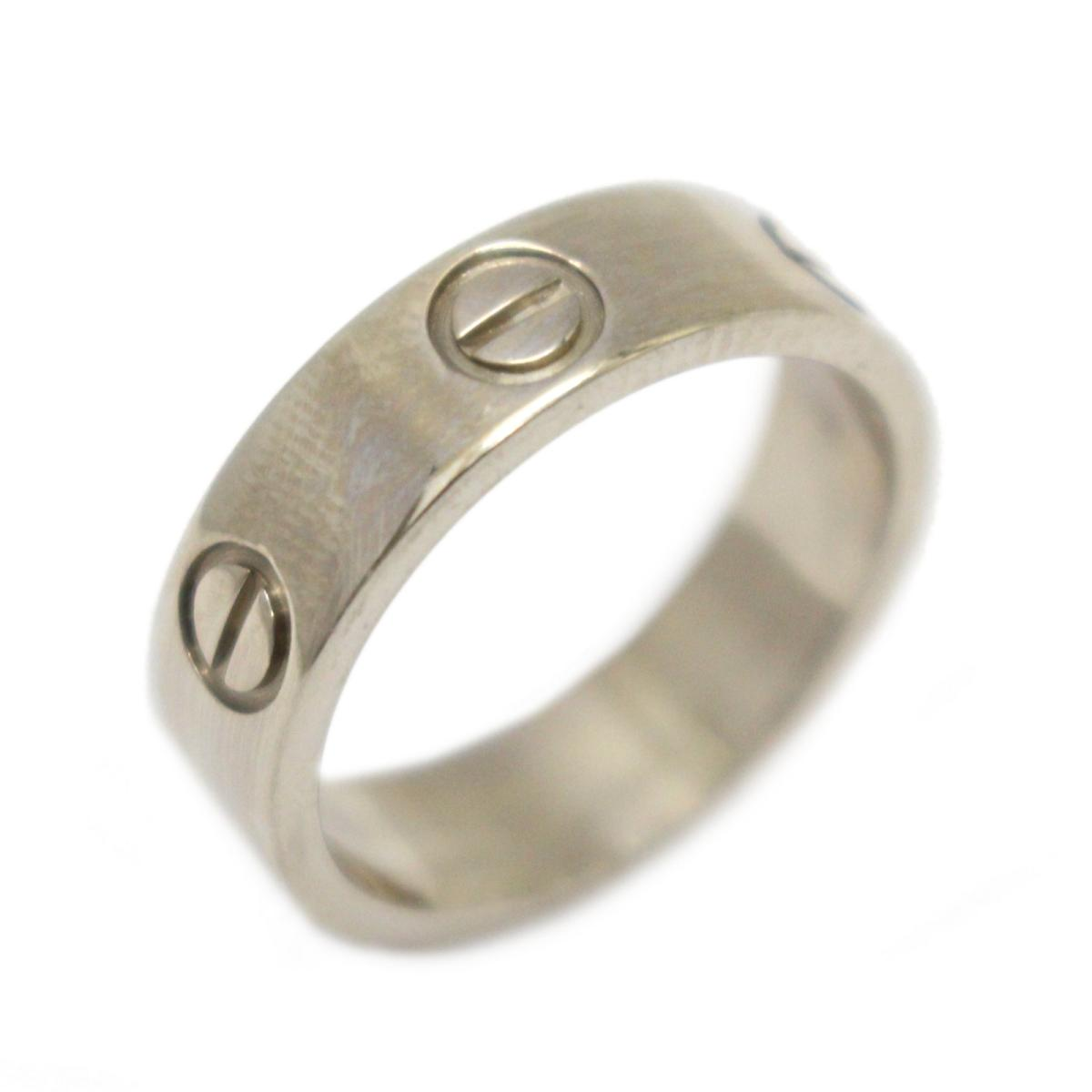 e10f36f1ddfb ... ラブリング 指輪 ブランドジュエリー レディース K18WG (750) ホワイトゴールド     Cartier BRANDOFF ブランドオフ  ブランド ジュエリー アクセサリー リング