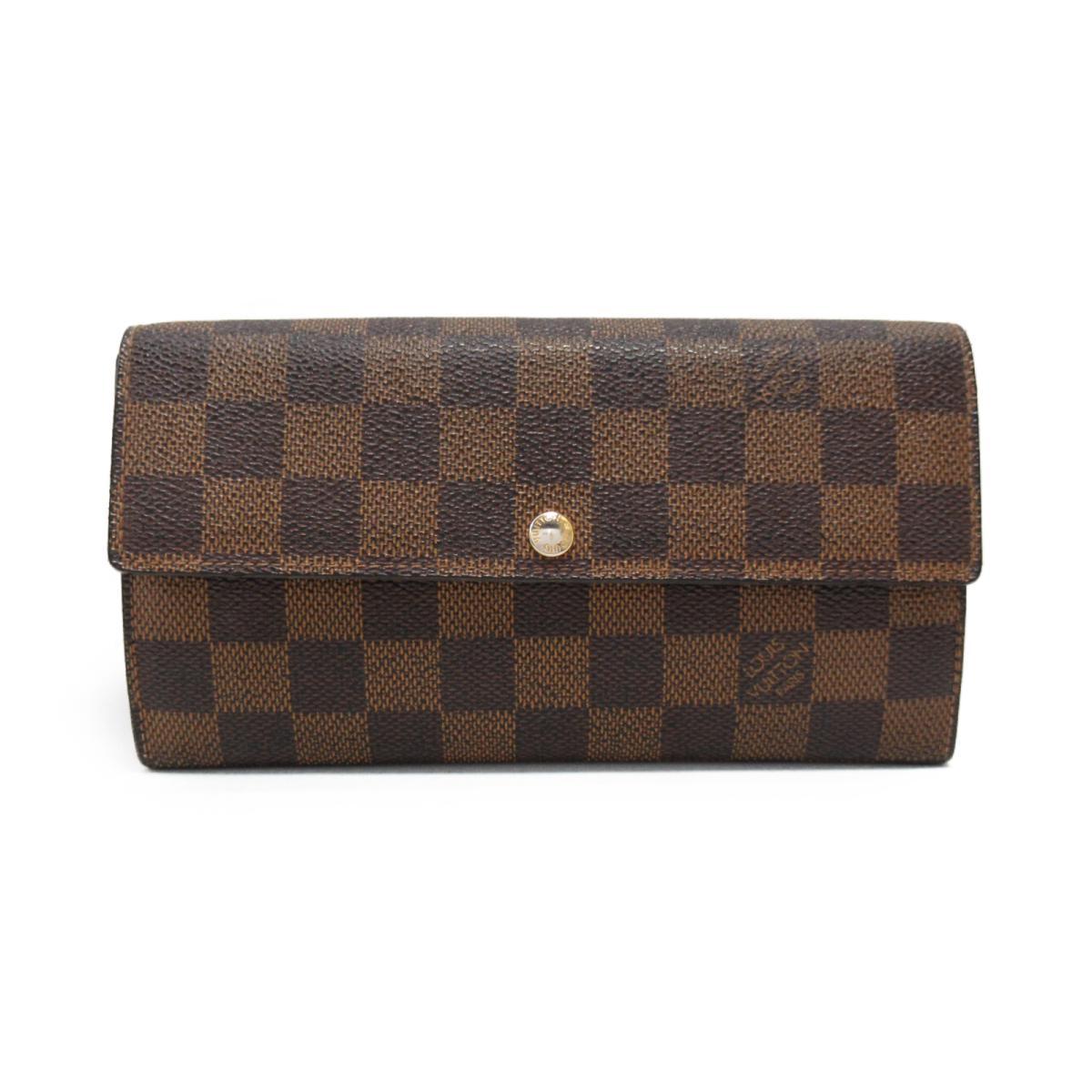b5d44015c3ed ... 二つ折り長財布 メンズ レディース ダミエ (N61734)   LOUIS VUITTON ビトン ヴィトン ルイ·ヴィトン 長財布 財布  ポルトフォイユ·サラ ブランドオフ BRANDOFF