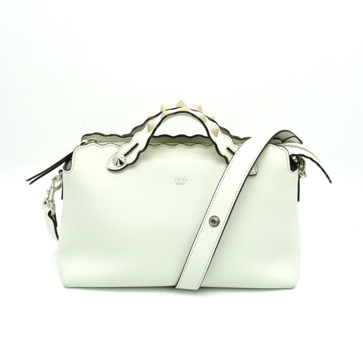 a4e6bfe99518 ... バッグ レディース 牛革 (カーフ) ホワイト (8BL124-9F) | FENDI バッグ バック 鞄 カバン BAG ブランドバッグ  ブランドバック ブランドオフ BRANDOFF