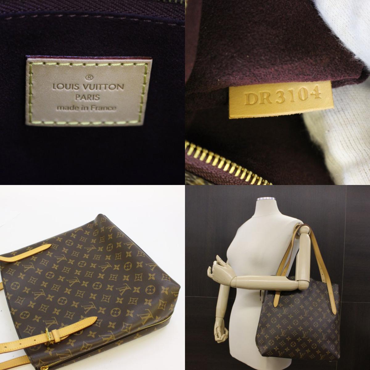 路易威登 volt<strong>a</strong>ire 单肩包 bag m41208 monogram 棕色 used vintage