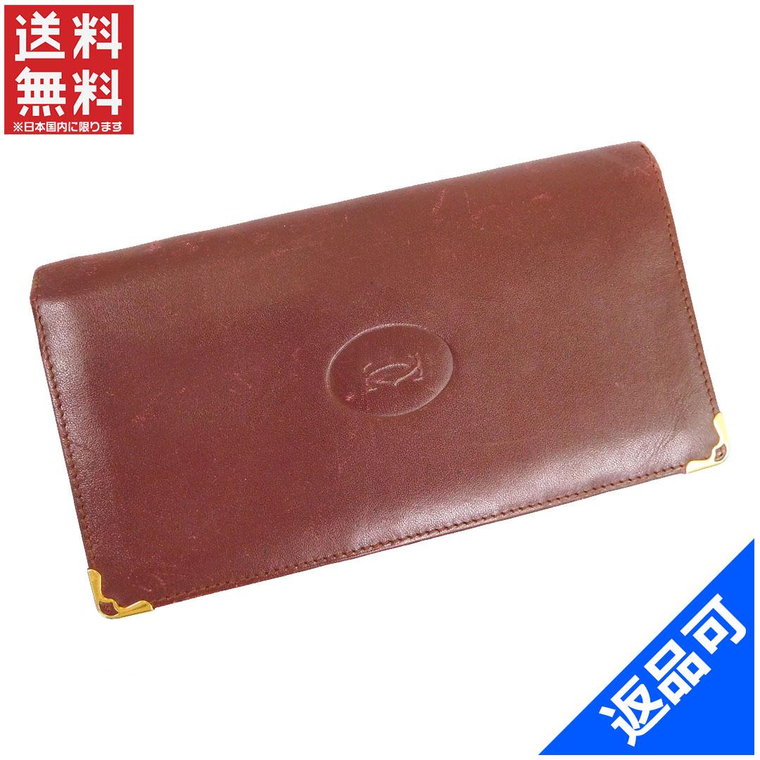 b4bdb5b19f75 商品タイトル カルティエ Cartier 長札入れ マストライン ボルドー レザー 即納 【】 X11773 状態コメント スレ 角スレ キズ 汚れ  などの一般的使用感があります。