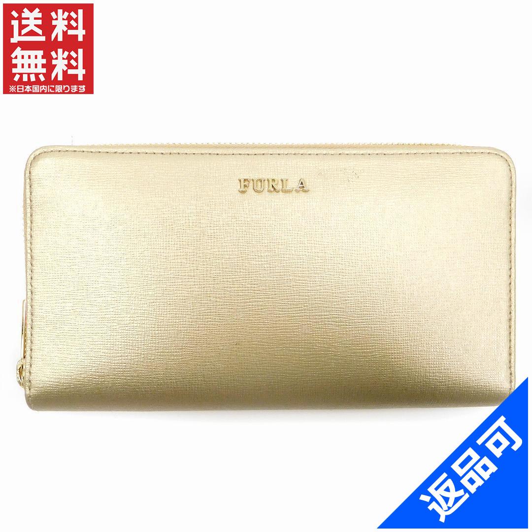 ca205b6143c4 商品タイトル フルラ FURLA 長財布 ラウンドファスナー財布 ゴールド PVC×レザー 良品 即納 【】 X12083 状態コメント 若干の汚れ  キズ がある程度の美品となります。