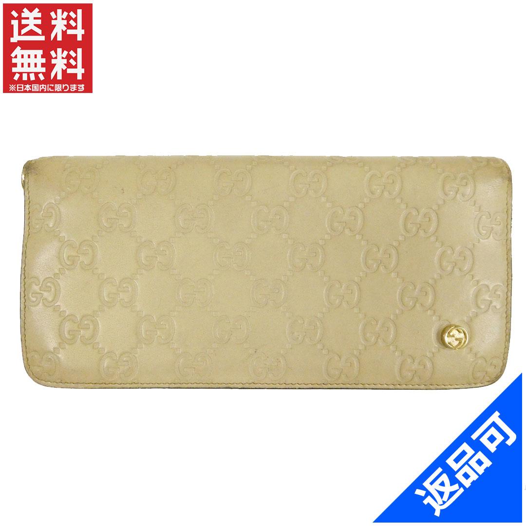 4ef7a5c57dba 商品タイトル グッチ GUCCI 長財布 グッチシマ ベージュ レザー 即納 【】 X12902 状態コメント 角スレ キズ 汚れ  などの一般的使用感があります。