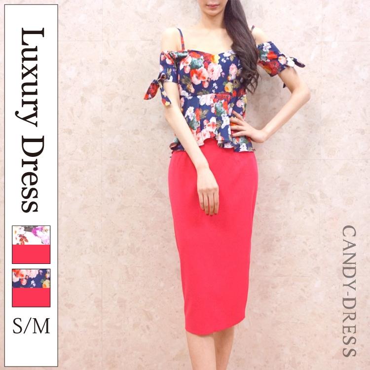 オフショル ドレス 韓国