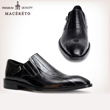 e8eccc433e814 ビジネスシューズ 革底 革靴 CENTiMETER4 モンクストラップ ブラック ...