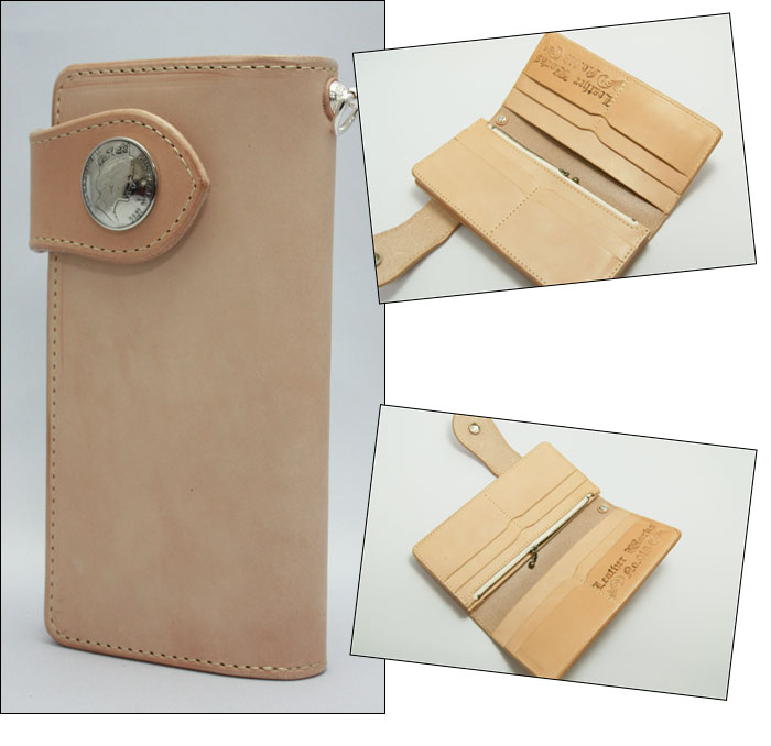 同时与康乔简单鞣的牛皮皮革手工制作的皮革商品面料手工钱包男士钱包