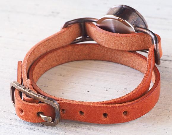 大护,太郎手工手表手工制作手工手表手表女士仿古皮革带模拟简单的