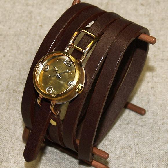 """渡边工作室手工制作手表""""coil1-b""""5 卷轴式安全带女士胸罩 [nw-45a]"""