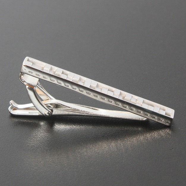汤普森·银子立方体设计领带别针领带夹受欢迎的男子的领带别针(领带