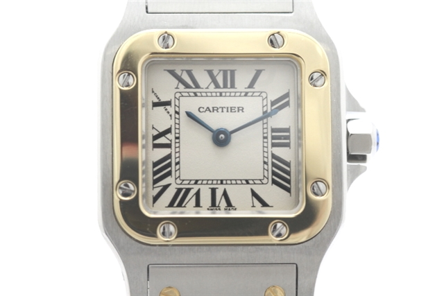 low priced 27a6a f58e2 送料無料】Cartier カルティエ 大黒屋 時計 サントスガルベSM 質 ...