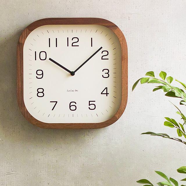デイトゥデイ (掛け時計 掛時計 時計 木製 ナチュラル おしゃれ 北欧 デザイン ウッド シンプル アンティーク レトロ ギフト プレゼント) クロック Day To Day Clock Lemnos 壁掛け時計 【ポイント10倍】 レムノス