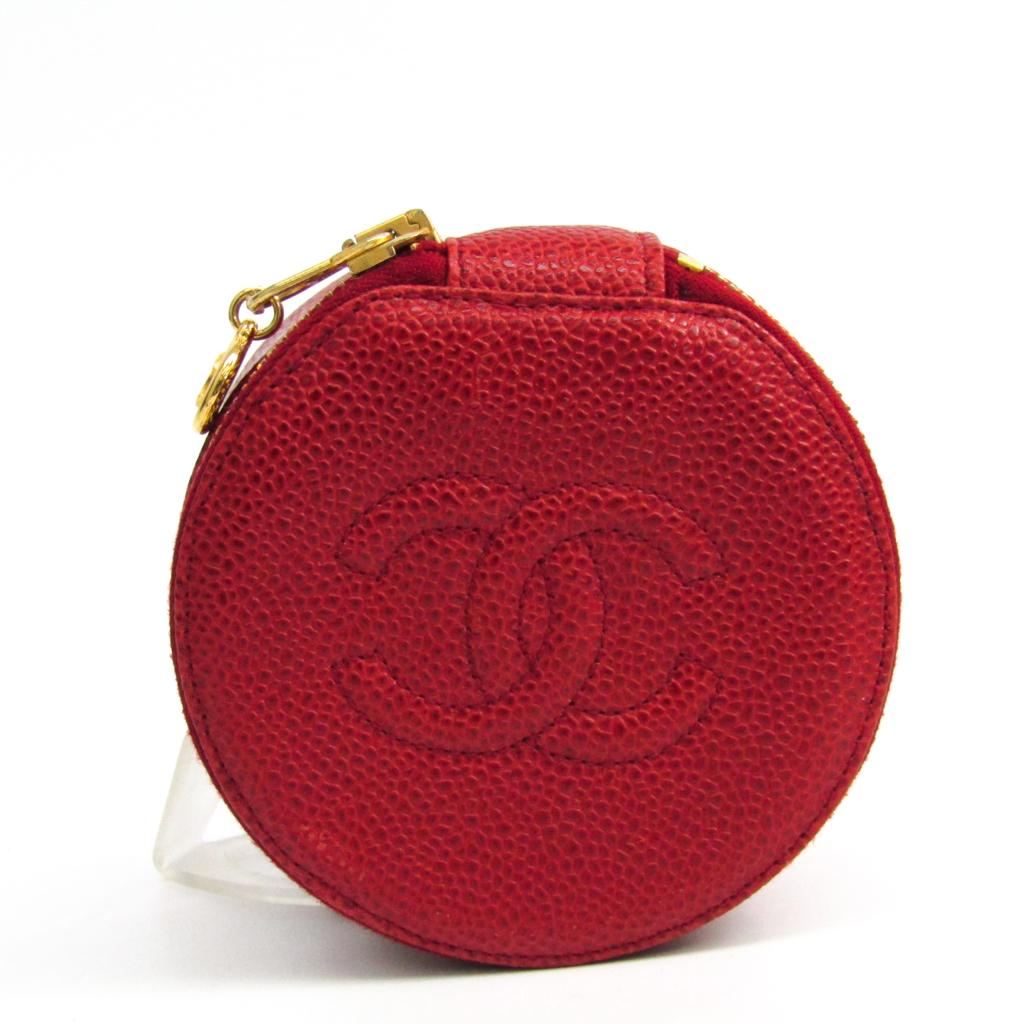 5e1b073bac0d シャネル(Chanel) ジュエリーケース レッド ブランド エルメス キャビア ...