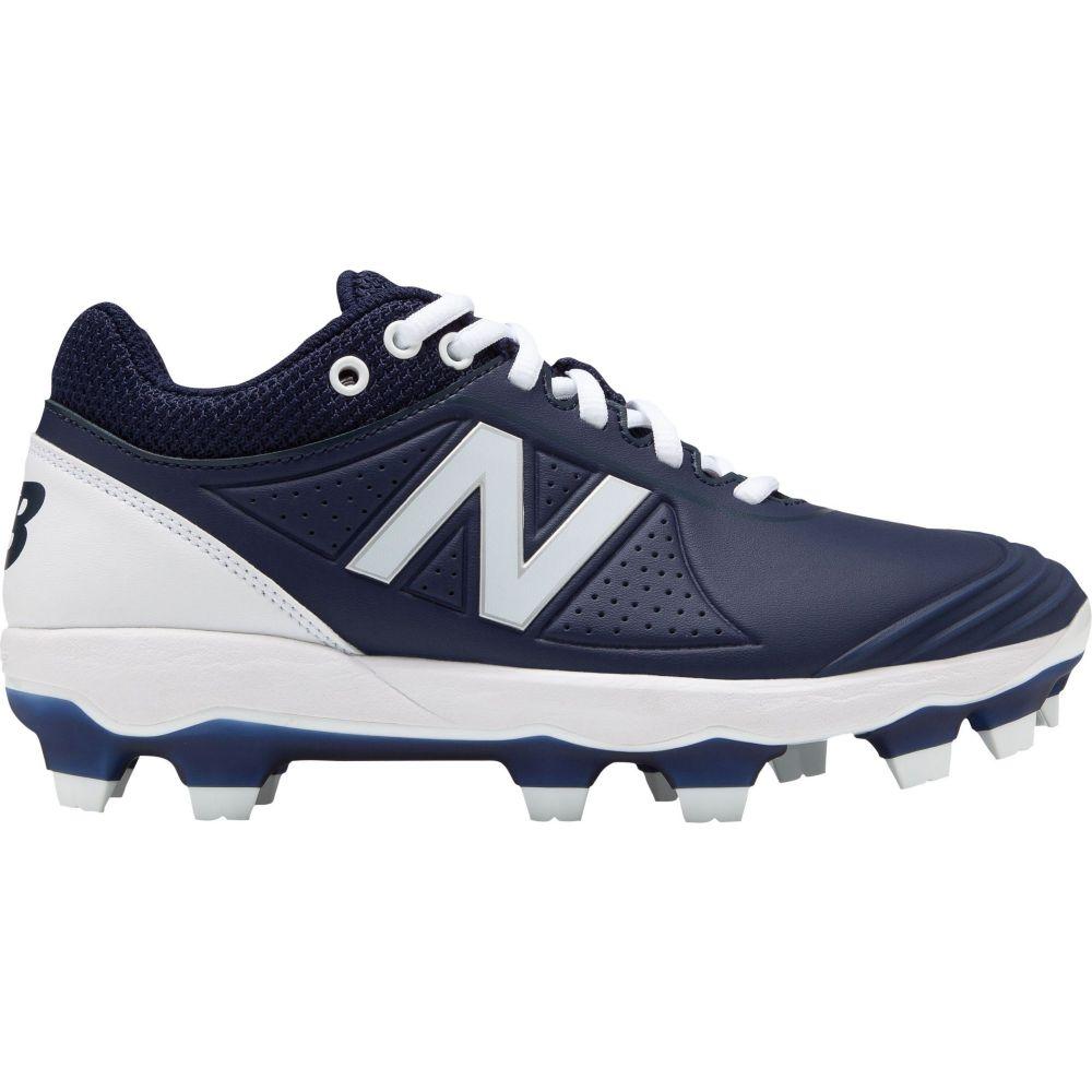 ニューバランス New Balance レディース Balance 野球 スパイク スパイク シューズ 靴 Fusev2 New Softball Cleats Navy White フェルマートニューバランス レディース 野球 シューズ 靴 サイズ交換無料