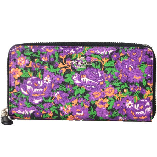 891eac1b14aa コーチから日本未発売の新作長財布を入荷しました♪大人の女性にピッタリな深みのあるパープルカラーにフローラル柄がプリントされた上品なデザインが魅力◎使い勝手の  ...