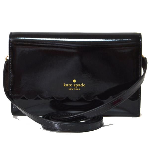 18f8223dbb0b 今季最新作◎ケイトスペード大人気2WAYバッグより待望のブラックカラーが登場!光沢感あるパテント素材を全面に使用し、フロントにはブランドロゴも添えられ高級感も  ...