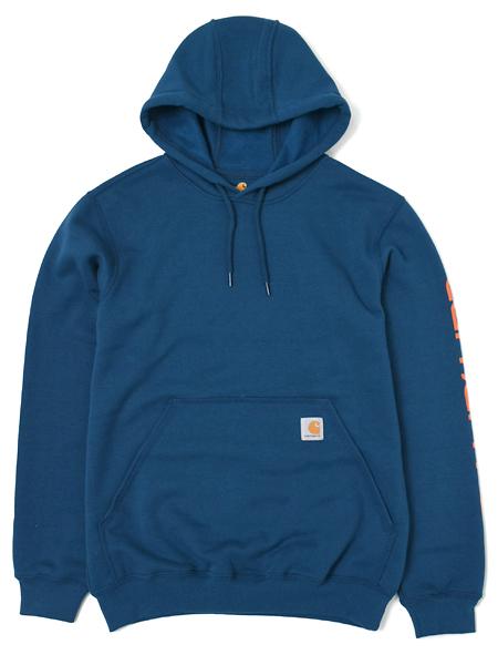 Signature Sleeve Logo k288 Hoody CARHARTT Men/'s Authentic Hooded Sweatshirt