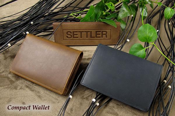 c132109eff55 セトラー 2つ折り財布 SETTLER CompactWallet OW-1565ホワイトハウスコックスのデフュージョンブランド〔FL〕  【エコ割対象商品·】使い込むほどにエイジングを ...